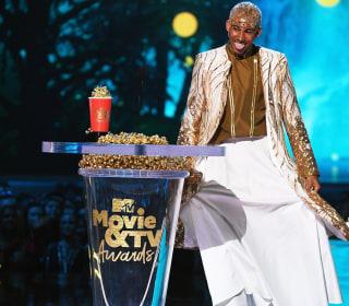 LGBTQ entertainers honored at MTV awards