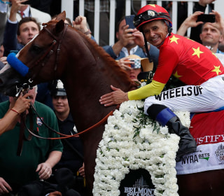 Triple Crown winners talk about making history with Justify