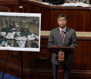 Rep. Lieu plays audio on House floor of crying immigrant children