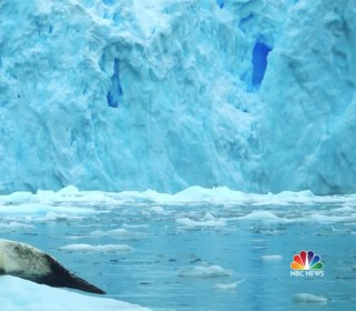 Melting of Antarctic ice sheet has tripled in the last decade, study says
