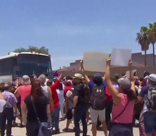 Protests as children remain in limbo and separated families await reunification