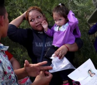 Audio recording reveals distraught migrant children separated from parents