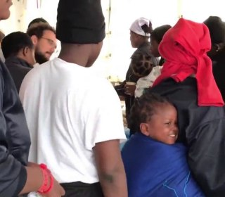 Migrant rescue ships dock in Spain after week in limbo
