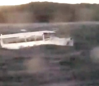 Footage shows duck boat in wild weather before capsize