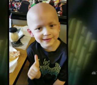 Iowa town celebrates life of young boy who touched hearts with last wishes