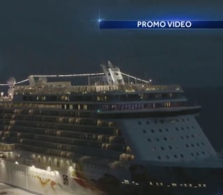 Cruise ship passenger survives 10 hours at sea after falling overboard