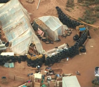Children found in New Mexico compound were being trained to commit school shootings