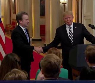 President Trump looks ahead to midterms after Kavanaugh confirmation