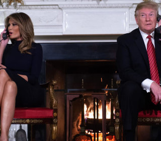 Trump asks 7-year-old: 'Are you still a believer in Santa?'