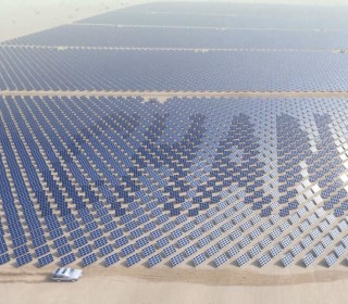 Supersized solar farms are being constructed across the world (and soon in space).