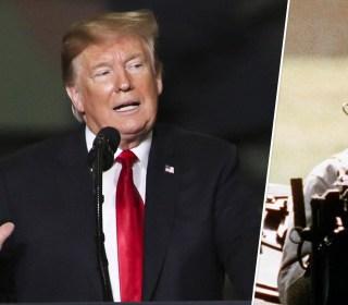 Trump recalls Dukakis: 'He tanked when he got into the tank'