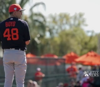 Inside one baseball player's mission to help young girls in Africa