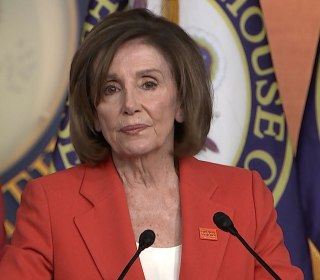 Pelosi on impeachment process: 'We know exactly what path we're on'
