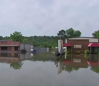 Swollen rivers flood homes, force evacuations in several states