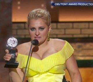 Broadway actress makes history with Tony Award win