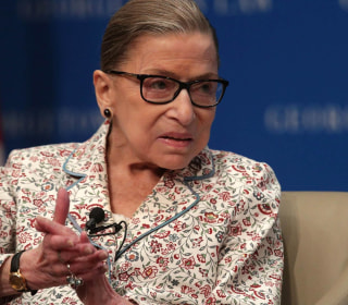 Ginsburg praises Kavanaugh for 'a very important first on the Supreme Court'