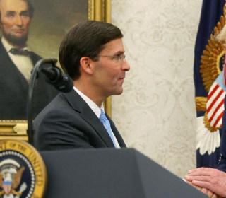 Army veteran Mike Esper sworn in as secretary of defense