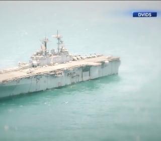 President Trump: U.S. Navy ship shot down Iranian drone over Strait of Hormuz