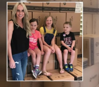 Arkansas mom buys out closing Payless stores to give shoes to kids in need