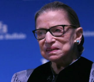 Justice Ruth Bader Ginsberg makes public appearance days after completing cancer treatment