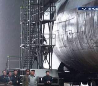 North Korea could have submarine capable of launching nuclear missiles, new images suggest