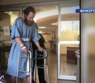 Musician Mike Posner recovering after rattlesnake bite on walk across America