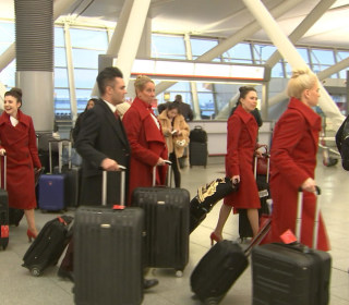 Changes in the sky as airlines soften flight attendant dress code requirements