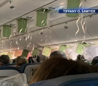 Delta plane quickly descends 30,000 feet in controlled descent