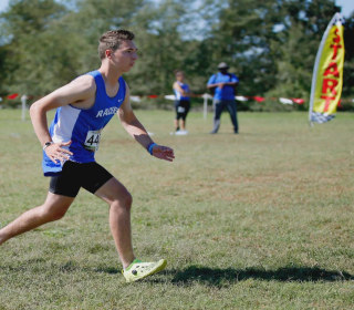 Cross country runner's inspiring finish just two years after car accident
