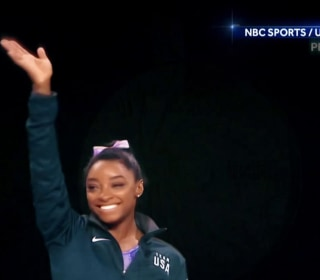 Simone Biles now most decorated gymnast in world championships history