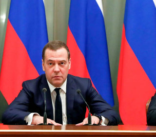 Russian government resigns to make way for Putin's constitutional changes