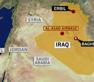 Iran attacks two Iraqi military bases where U.S. troops are based