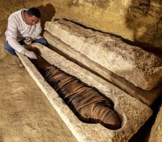 Egypt unveils 2,500-year-old tombs near Nile Valley city of Minya