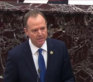 Watch Schiff deliver his closing remarks in the Senate impeachment trial