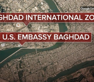 Rocket attack strikes near U.S. Embassy in Iraq