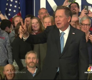 Kasich Insists His Positive Message Led to Second Place Finish in N.H.