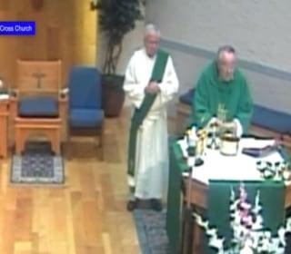 Camera Captures Church Blast
