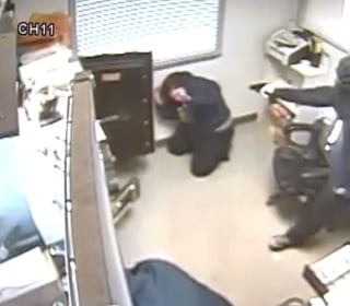 Cameras Capture Terrifying Robbery
