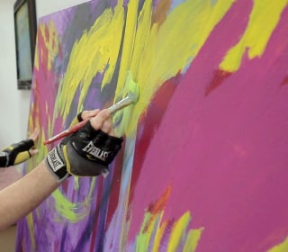 Autistic Artist Shares His World of Vibrant Colors