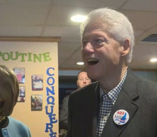 Bill Clinton Reacts to Photo of Himself in N.H.: 'Look How Young I Was'