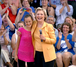 5th Grader Has Unique Request for Hillary Clinton at Town Hall