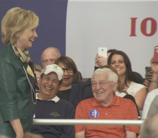 Hillary Clinton Gives Iowa Crowd Her Best Donald Trump Impersonation