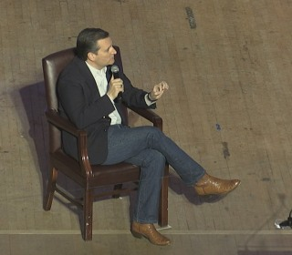 Ted Cruz Critical of 'Black Lives Matter' at S.C. Event