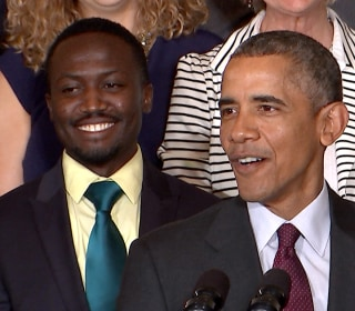 Obama Jokes With Inventors: I'm Going to Need a Job in 18 Months