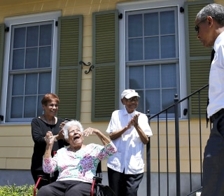 Obama Visits New Orleans Neighborhood Rebuilt After Katrina