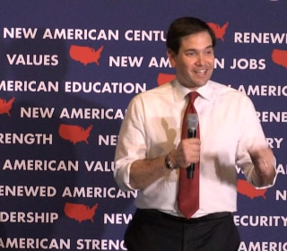 Rubio: I'm the One Republican Clinton Doesn't Want to Face