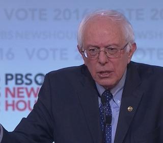 Sanders Surprised Over 'White People' Topic at Debate