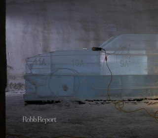 Classic Cars Get an Icy Makeover at the Detroit Auto Show
