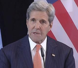 Kerry Announces Humanitarian Aid Effort, Cessation of Hostilities in Syria
