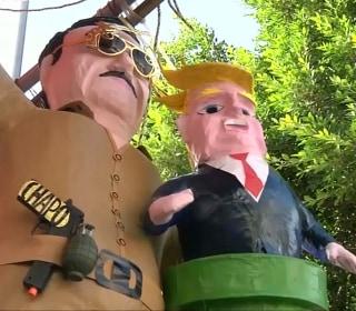 'El Chapo'-Donald Trump Piñatas Are a Hit in Mexico